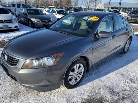 2008 Honda Accord for sale at CHRISTIAN AUTO SALES in Anoka MN