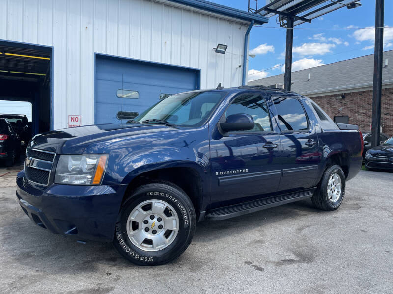2009 Chevrolet Avalanche for sale at Pulse Autos Inc in Indianapolis IN