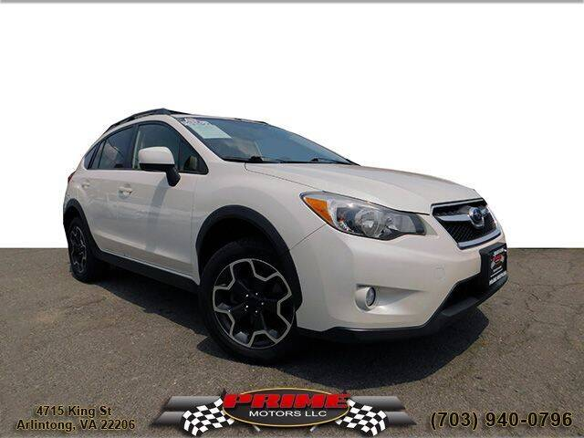 2014 Subaru XV Crosstrek for sale at PRIME MOTORS LLC in Arlington VA