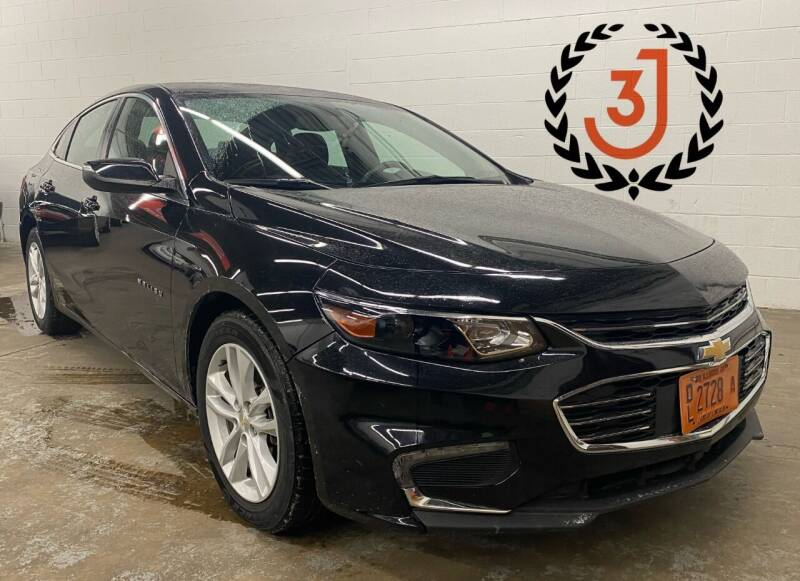 2016 Chevrolet Malibu for sale at 3 J Auto Sales Inc in Arlington Heights IL