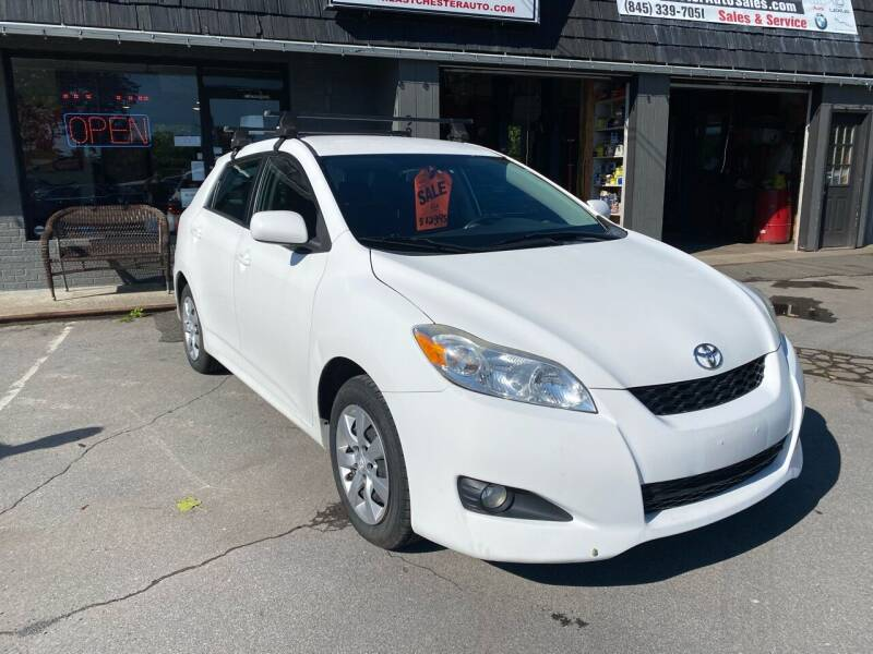 2013 Toyota Matrix for sale at EAST CHESTER AUTO GROUP INC. in Kingston NY