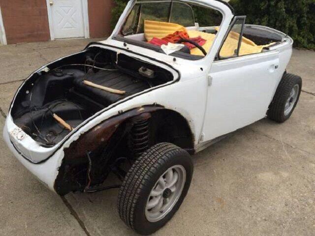 1976 Volkswagen Super Beetle for sale in Hobart, IN