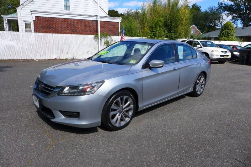 2014 Honda Accord for sale at FBN Auto Sales & Service in Highland Park NJ