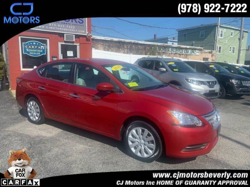 2014 Nissan Sentra for sale at CJ Motors Inc. in Beverly MA