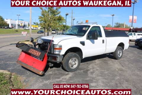 2010 Ford F-250 Super Duty for sale at Your Choice Autos - Waukegan in Waukegan IL