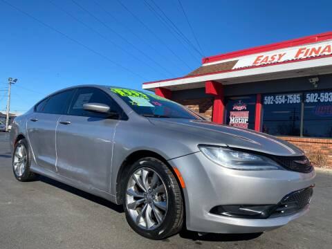 2015 Chrysler 200 for sale at Premium Motors in Louisville KY