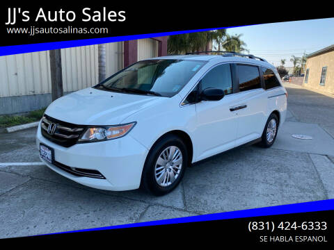 2014 Honda Odyssey for sale at JJ's Auto Sales in Salinas CA