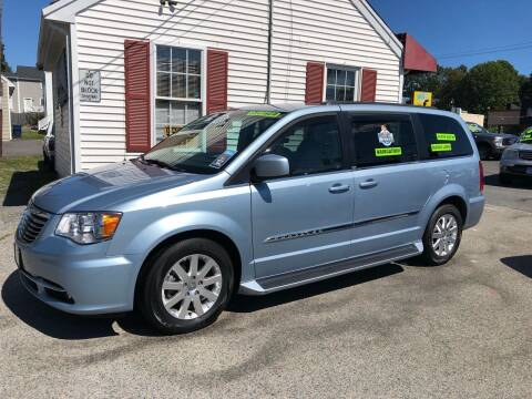 2013 Chrysler Town and Country for sale at Crown Auto Sales in Abington MA