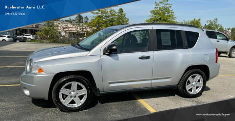 2008 Jeep Compass for sale at Xcelerator Auto LLC in Indiana PA