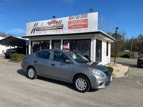2014 Nissan Versa for sale at Mechanicsville Auto Sales in Mechanicsville VA