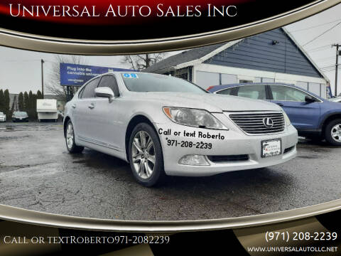 2008 Lexus LS 460 for sale at Universal Auto Sales Inc in Salem OR