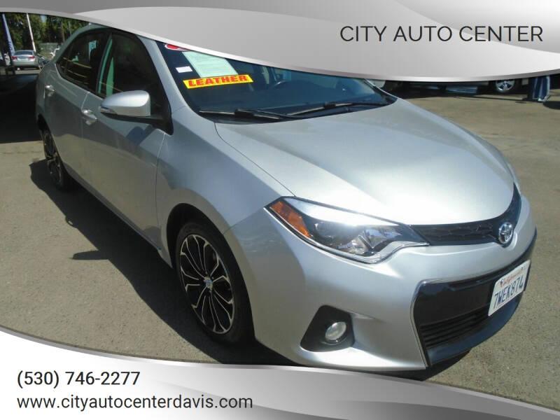 2014 Toyota Corolla for sale at City Auto Center in Davis CA