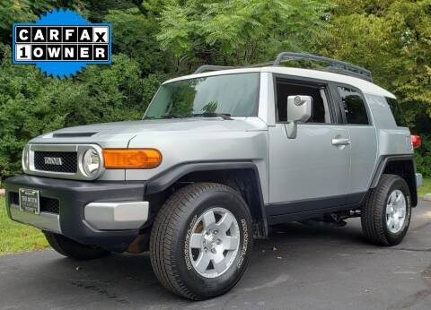 2007 Toyota FJ Cruiser for sale at The Motor Collection in Columbus OH