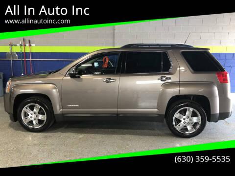 2012 GMC Terrain for sale at All In Auto Inc in Addison IL