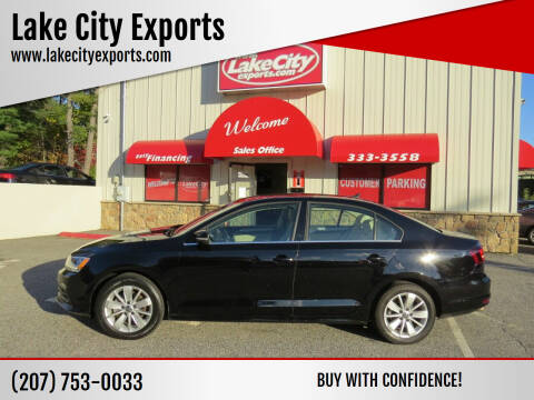 2016 Volkswagen Jetta for sale at Lake City Exports - Lewiston in Lewiston ME