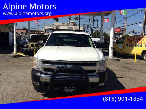 2008 Chevrolet Silverado 1500 for sale at Alpine Motors in Van Nuys CA