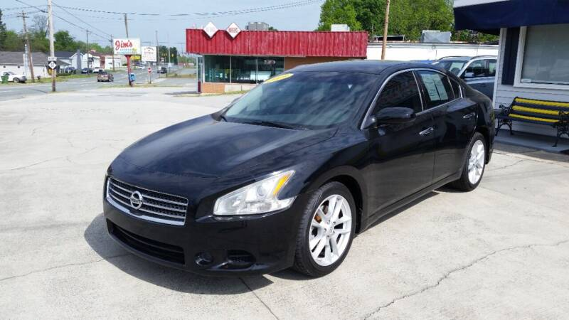 2009 Nissan Maxima for sale at West Elm Motors in Graham NC