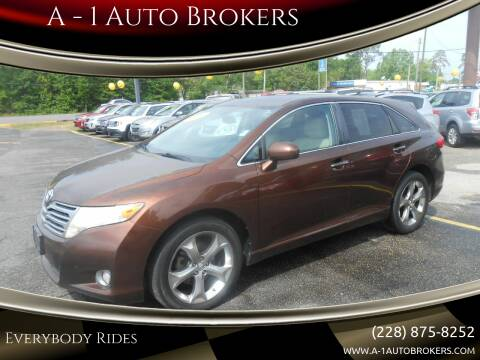2010 Toyota Venza for sale at A - 1 Auto Brokers in Ocean Springs MS