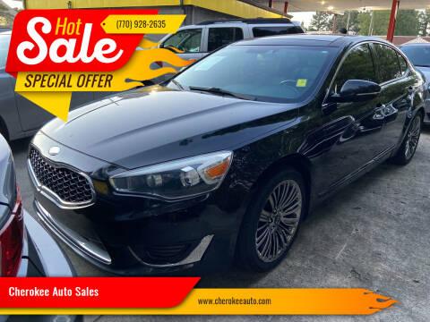 2014 Kia Cadenza for sale at Cherokee Auto Sales in Acworth GA