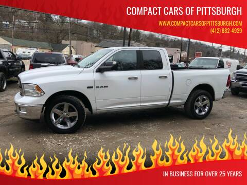 2010 Dodge Ram Pickup 1500 for sale at Compact Cars of Pittsburgh in Pittsburgh PA