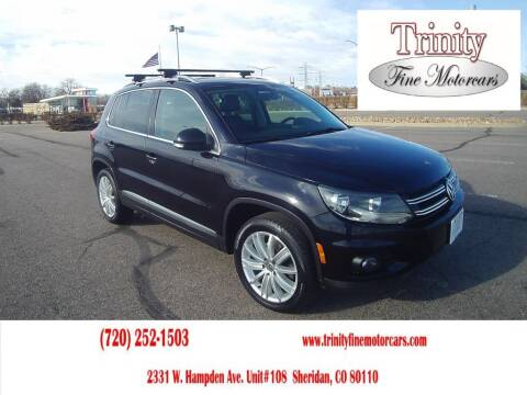 2012 Volkswagen Tiguan for sale at TRINITY FINE MOTORCARS in Sheridan CO