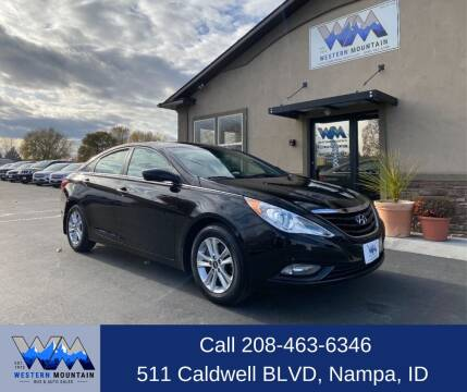 2013 Hyundai Sonata for sale at Western Mountain Bus & Auto Sales in Nampa ID