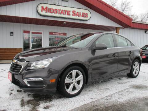 2015 Chevrolet Cruze for sale at Midstate Sales in Foley MN