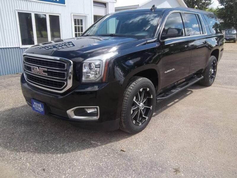 2016 GMC Yukon XL for sale at Wieser Auto INC in Wahpeton ND