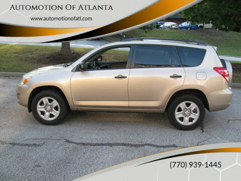 2010 Toyota RAV4 for sale at Automotion Of Atlanta in Conyers GA