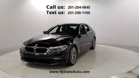 2017 BMW 5 Series for sale at NJ State Auto Used Cars in Jersey City NJ