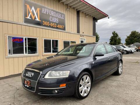 2006 Audi A6 for sale at M & A Affordable Cars in Vancouver WA
