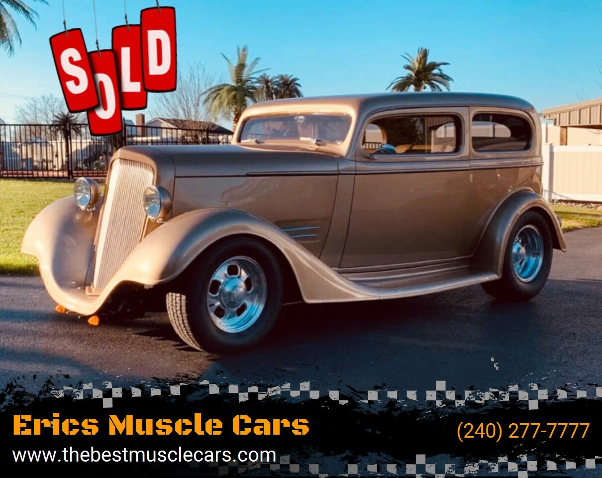 1935 Chevrolet Tudor SOLD SOLD SOLD