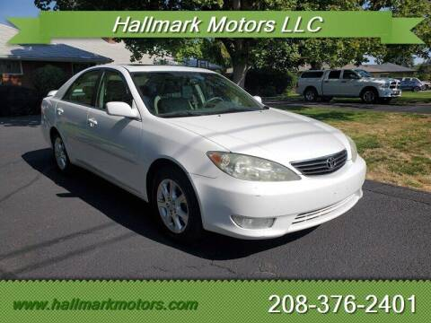 2006 Toyota Camry for sale at HALLMARK MOTORS LLC in Boise ID