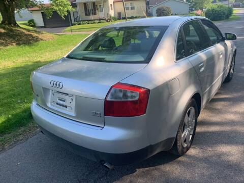 2002 Audi A4 for sale at Trocci's Auto Sales in West Pittsburg PA