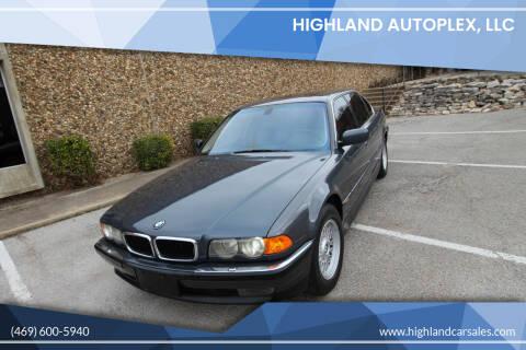 2000 BMW 7 Series for sale at Highland Autoplex, LLC in Dallas TX
