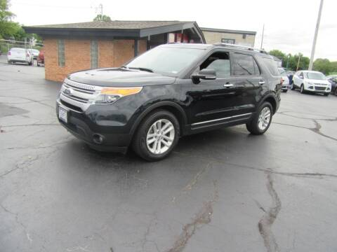 2014 Ford Explorer for sale at Riverside Motor Company in Fenton MO