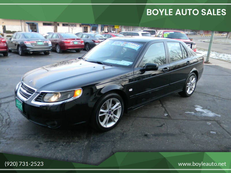 2008 Saab 9-5 for sale at Boyle Auto Sales in Appleton WI