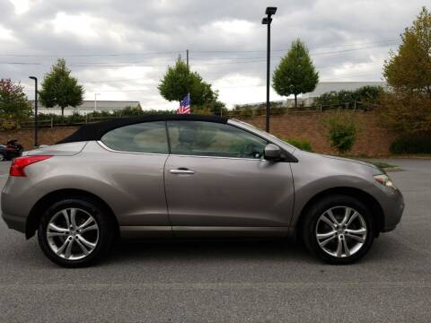 2011 Nissan Murano CrossCabriolet for sale at Lehigh Valley Autoplex, Inc. in Bethlehem PA