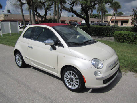 2012 FIAT 500c for sale at FLORIDACARSTOGO in West Palm Beach FL