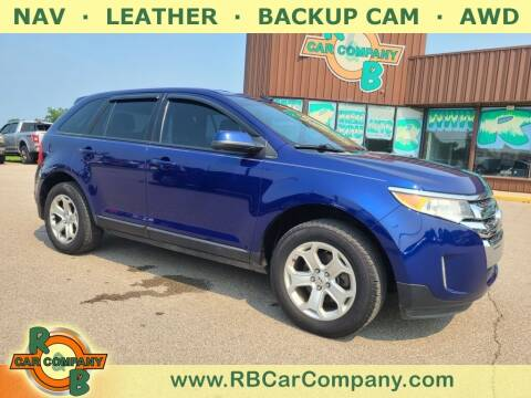 2014 Ford Edge for sale at R & B Car Co in Warsaw IN