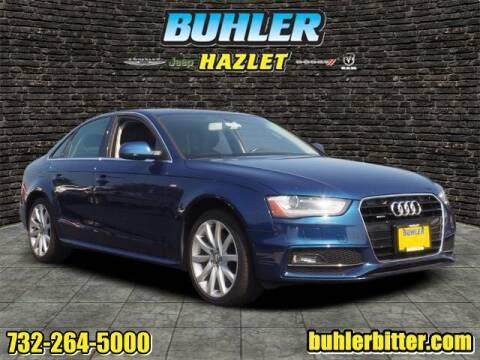 2014 Audi A4 for sale at Buhler and Bitter Chrysler Jeep in Hazlet NJ