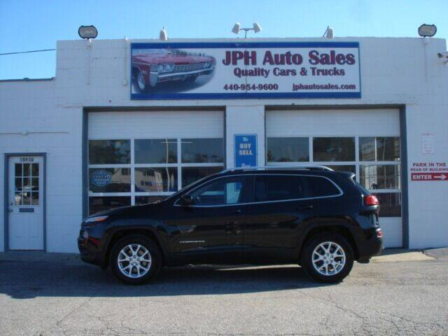 2014 Jeep Cherokee for sale at JPH Auto Sales in Eastlake OH