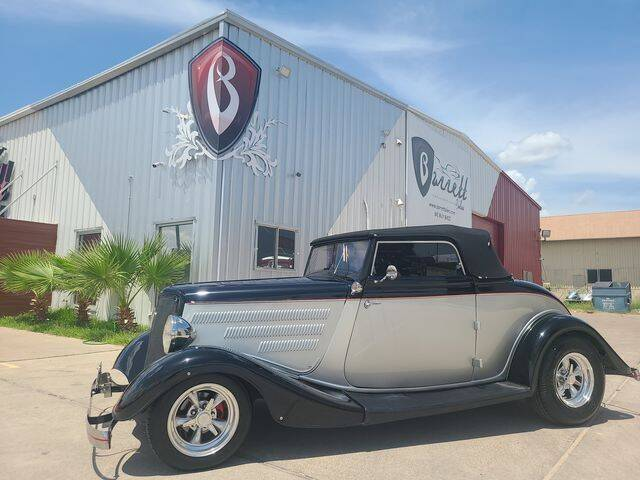 1934 Ford 1934 CABRIOLET for sale at Barrett Auto Gallery in San Juan TX