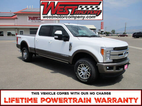 2018 Ford F-350 Super Duty for sale at West Motor Company in Preston ID