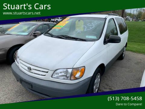 2002 Toyota Sienna for sale at Stuart's Cars in Cincinnati OH