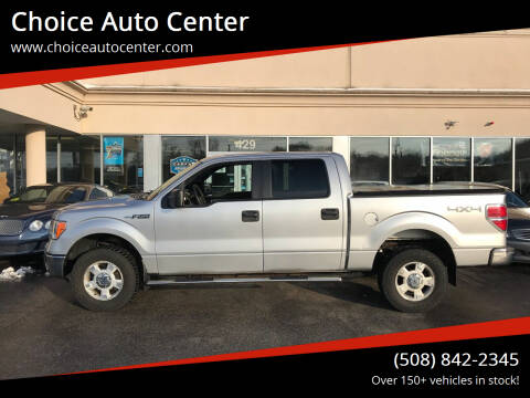 2011 Ford F-150 for sale at Choice Auto Center in Shrewsbury MA