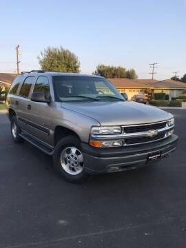 2001 Chevrolet Tahoe for sale at SoCal Motors in Los Alamitos CA
