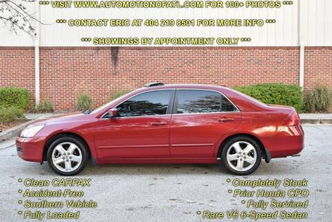 2007 Honda Accord for sale at Automotion Of Atlanta in Conyers GA