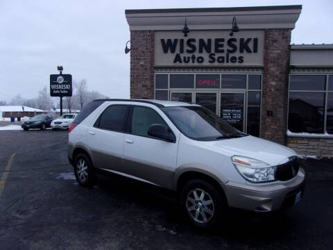 2004 Buick Rendezvous for sale at Wisneski Auto Sales, Inc. in Green Bay WI