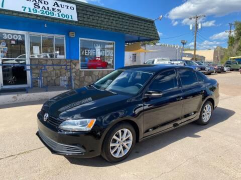 2012 Volkswagen Jetta for sale at Island Auto Sales in Colorado Springs CO